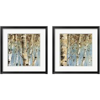 Framed White Forest 2 Piece Framed Art Print Set