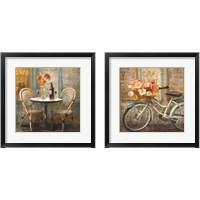 Framed Meet Me at Le Cafe 2 Piece Framed Art Print Set