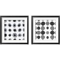 Framed Watermark Black and White 2 Piece Framed Art Print Set
