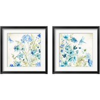Framed Wildflowers and Butterflies 2 Piece Framed Art Print Set