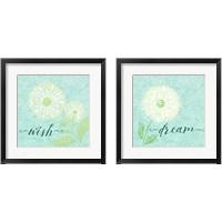 Framed Dandelion Wishes 2 Piece Framed Art Print Set