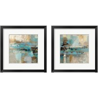Framed Morning Fjord Square 2 Piece Framed Art Print Set