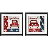 Framed Americana 2 Piece Framed Art Print Set