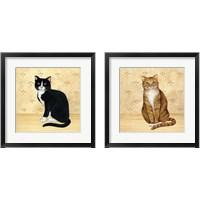 Framed Country Kitty 2 Piece Framed Art Print Set