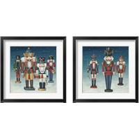 Framed Nutcrackers Snow 2 Piece Framed Art Print Set