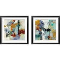 Framed Skyline  2 Piece Framed Art Print Set