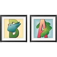 Framed ABC 2 Piece Framed Art Print Set