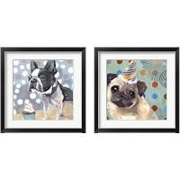 Framed Pug Birthday 2 Piece Framed Art Print Set