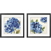Framed Hampton Hydrangea 2 Piece Framed Art Print Set