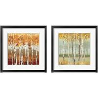 Framed Golden Birch 2 Piece Framed Art Print Set
