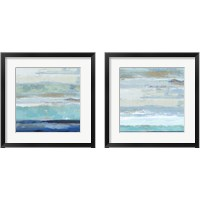 Framed Sea Shore 2 Piece Framed Art Print Set