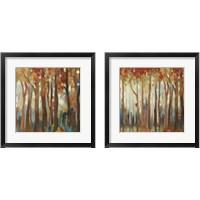 Framed Marble Forest  2 Piece Framed Art Print Set