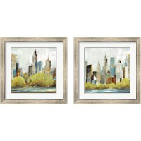 Framed Hudson Ferry 2 Piece Framed Art Print Set