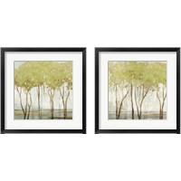 Framed Green Canopy 2 Piece Framed Art Print Set