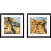Framed Musical Instrument 2 Piece Framed Art Print Set