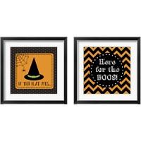Framed Halloween Signs 2 Piece Framed Art Print Set