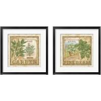 Framed Fine Herbs 2 Piece Framed Art Print Set