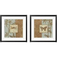 Framed Asian Wind 2 Piece Framed Art Print Set