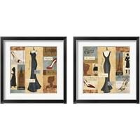 Framed Couture Paris & London 2 Piece Framed Art Print Set