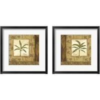 Framed Palmier Tropical 2 Piece Framed Art Print Set