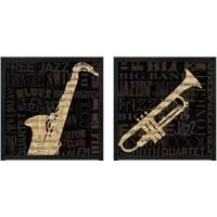Framed Jazz Improv 2 Piece Framed Art Print Set