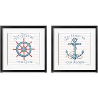 Framed Nautical Life 2 Piece Framed Art Print Set