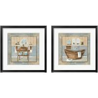 Framed Copper Sink & Tub Variation 2 Piece Framed Art Print Set
