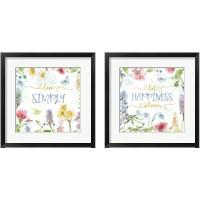 Framed Spring Splash 2 Piece Framed Art Print Set