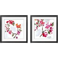 Framed Spring Floral 2 Piece Framed Art Print Set