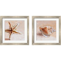 Framed Copper Sea Life 2 Piece Framed Art Print Set