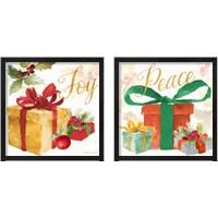 Framed Presents and Notes 2 Piece Framed Art Print Set