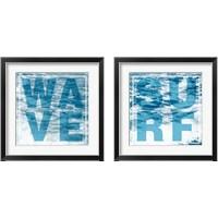 Framed Surf & Wave 2 Piece Framed Art Print Set