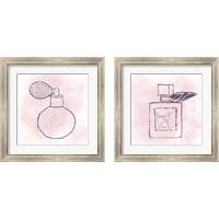 Framed French Perfume 2 Piece Framed Art Print Set