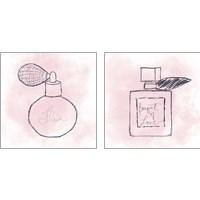 Framed French Perfume 2 Piece Art Print Set