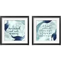 Framed Mermaid Inspirations 2 Piece Framed Art Print Set