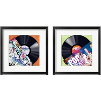Framed Vinyl Club 2 Piece Framed Art Print Set