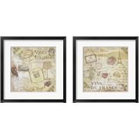 Framed Wine 2 Piece Framed Art Print Set