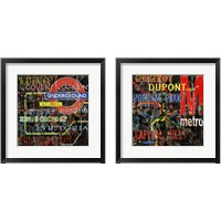 Framed Subway 2 Piece Framed Art Print Set
