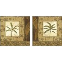 Framed Palmier Tropical 2 Piece Art Print Set