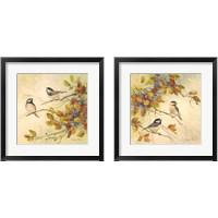Framed Birds of Autumn 2 Piece Framed Art Print Set