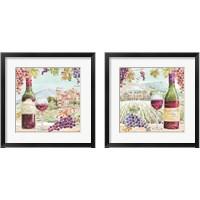 Framed Wine Country 2 Piece Framed Art Print Set