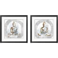 Framed Buddhist 2 Piece Framed Art Print Set