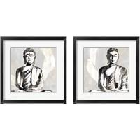 Framed Buddha 2 Piece Framed Art Print Set