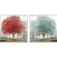 Framed By the Treeside 2 Piece Art Print Set