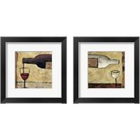 Framed Wine Pour 2 Piece Framed Art Print Set