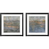 Framed Copper Emulsion 2 Piece Framed Art Print Set