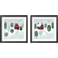 Framed Christmastown  2 Piece Framed Art Print Set
