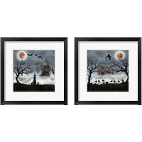 Framed Harvest Moon 2 Piece Framed Art Print Set
