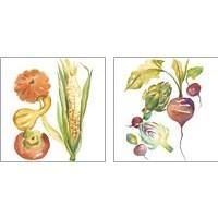 Framed Harvest Medley 2 Piece Art Print Set