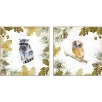 Framed Into the Woods 2 Piece Art Print Set